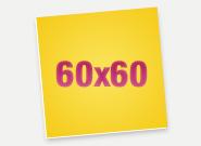 Печать Пенокартон 60х60