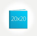 Печать Принтбук ROYAL в твердой персональной обложке 20х20
