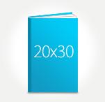 Печать Принтбук ROYAL в твердой персональной обложке 20х30