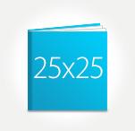 Печать Принтбук ROYAL в твердой персональной обложке 25х25