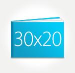 Печать Принтбук ROYAL в твердой персональной обложке 30х20