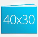 Печать Принтбук ROYAL в твердой персональной обложке 40х30