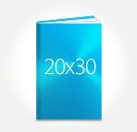 Печать Принтбук ROYAL в твердой персональной обложке 20х30 (металлик)