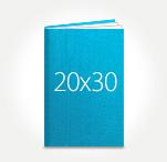 Печать Принтбук ROYAL в твердой персональной обложке 20х30 (шёлк)