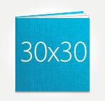 Печать Принтбук ROYAL в твердой персональной обложке 30х30 (шёлк)