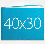 Печать Принтбук ROYAL в твердой персональной обложке 40х30 (шёлк)