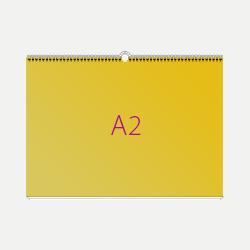 Печать Календарь перекидной А2, горизонтальный