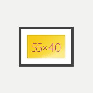 Печать Картина с паспарту 40х55
