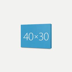 Печать Холст Премиум 30x40