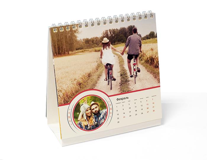 Календарь настольный 15х15 домик<br>