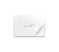 Принтбук в мягкой персональной обложке 21х15 (60 страниц)<br>