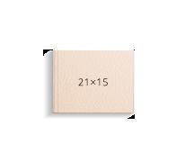 Печать Принтбук в твердой обложке из искусственной кожи 21х15, бежевый (40 страниц)