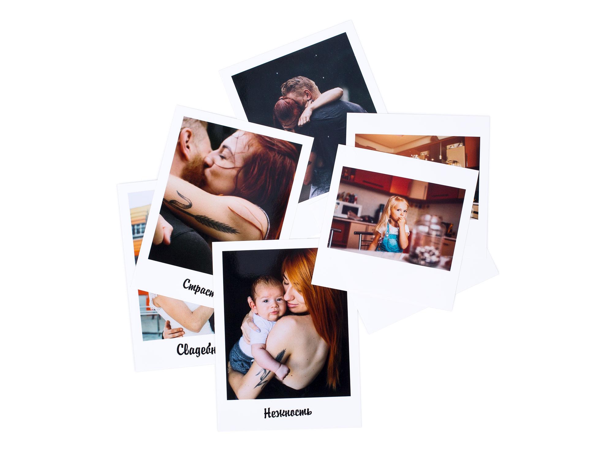 Фотографии 10х10 Polaroid<br>