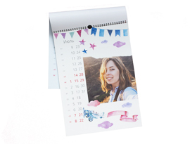 Календари - перекидной А3 Премиум - -1