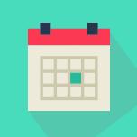 Календари - С опцией событий - Перекидные вертикальные