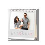 Печать Календарь настольный 15х15 домик
