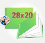 Печать Принтбук в твердой персональной обложке 28х20