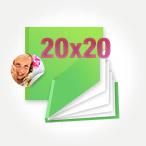 Печать Принтбук Премиум в твердой персональной фотообложке 20х20