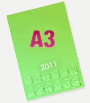 Календарь плакат А3 Премиум<br>