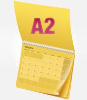 Календарь раскладной А2<br>
