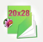 Печать Принтбук Премиум в твердой персональной фотообложке 20х28