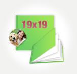 Печать Принтбук в мягкой персональной обложке 19х19 (40 страниц)