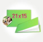 Печать Принтбук в мягкой персональной обложке 21х15 (40 страниц)