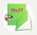 Печать Принтбук в мягкой персональной обложке 19х27 (40 страниц)