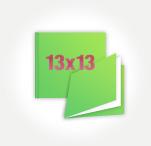 Печать Минибук 13х13, 10 разворотов