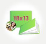 Печать Принтбук Премиум в твердой персональной фотообложке 18х13