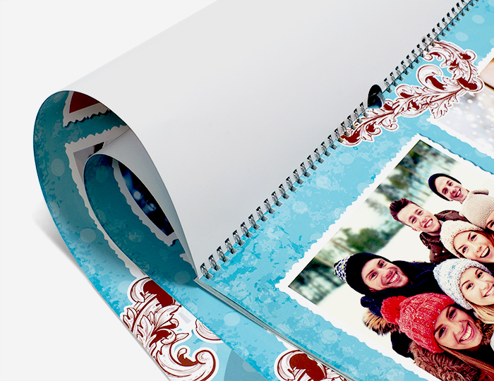 Печать календаря с фотографиями в Санкт-Петербурге в большом формате А2