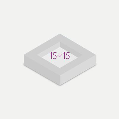 Подарочная упаковка для форматов 15х15
