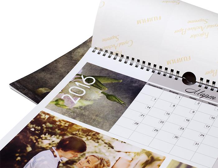 Фотокалендарь в регионах России в формате А3 Royal напомнит о важных датах