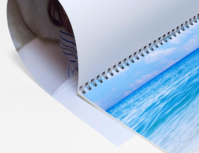 Создать фотокалендарь со своим дизайном в большом формате B2