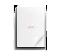 19х27 на клею, 40 стр.