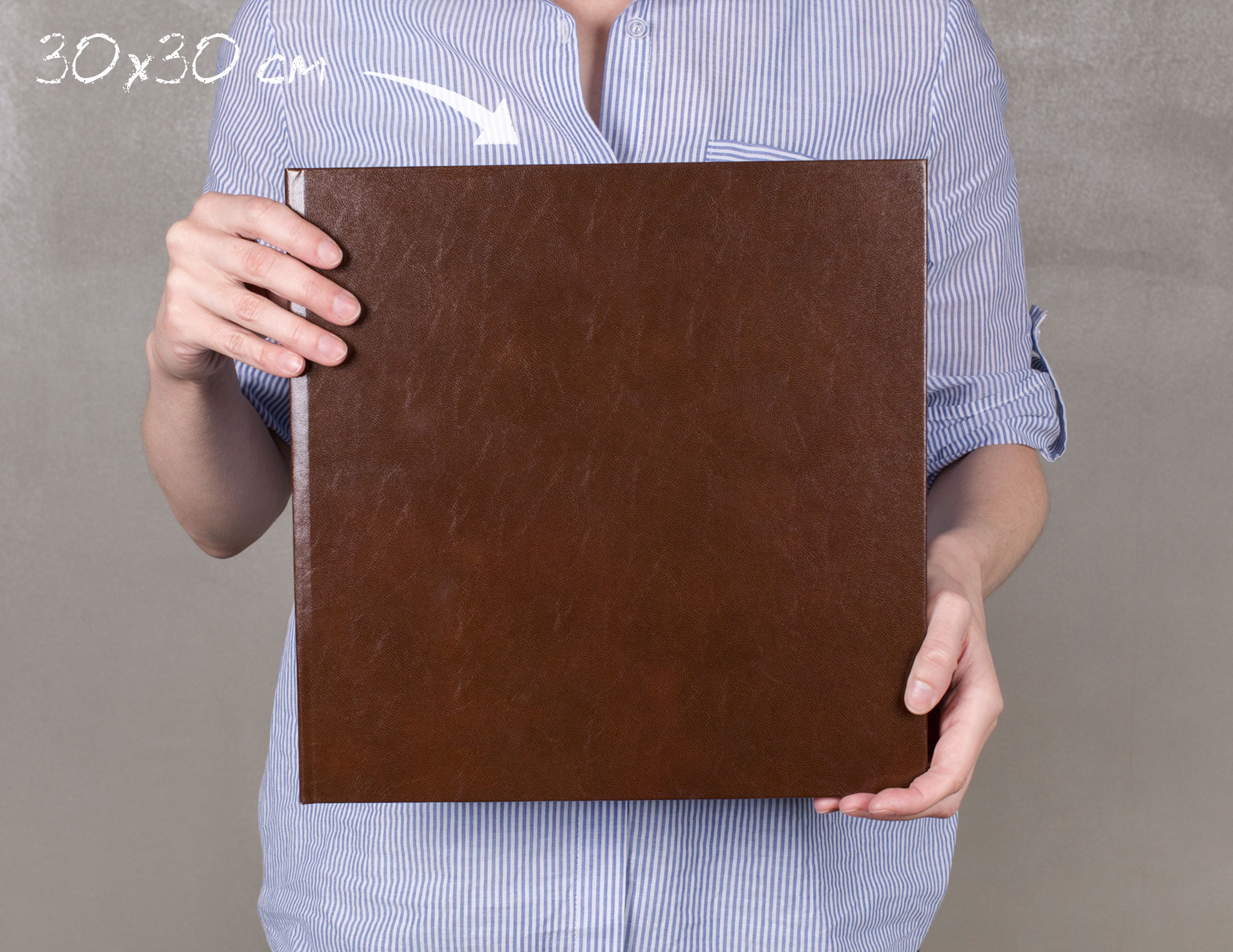 Принтбук Премиум в твердой обложке из искусственной кожи
