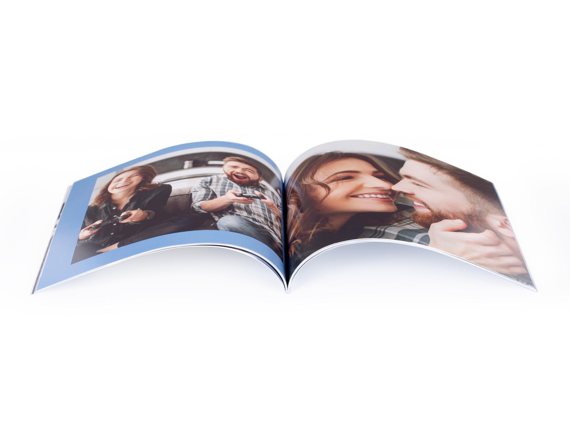 Принтбук в мягкой персональной фотообложке