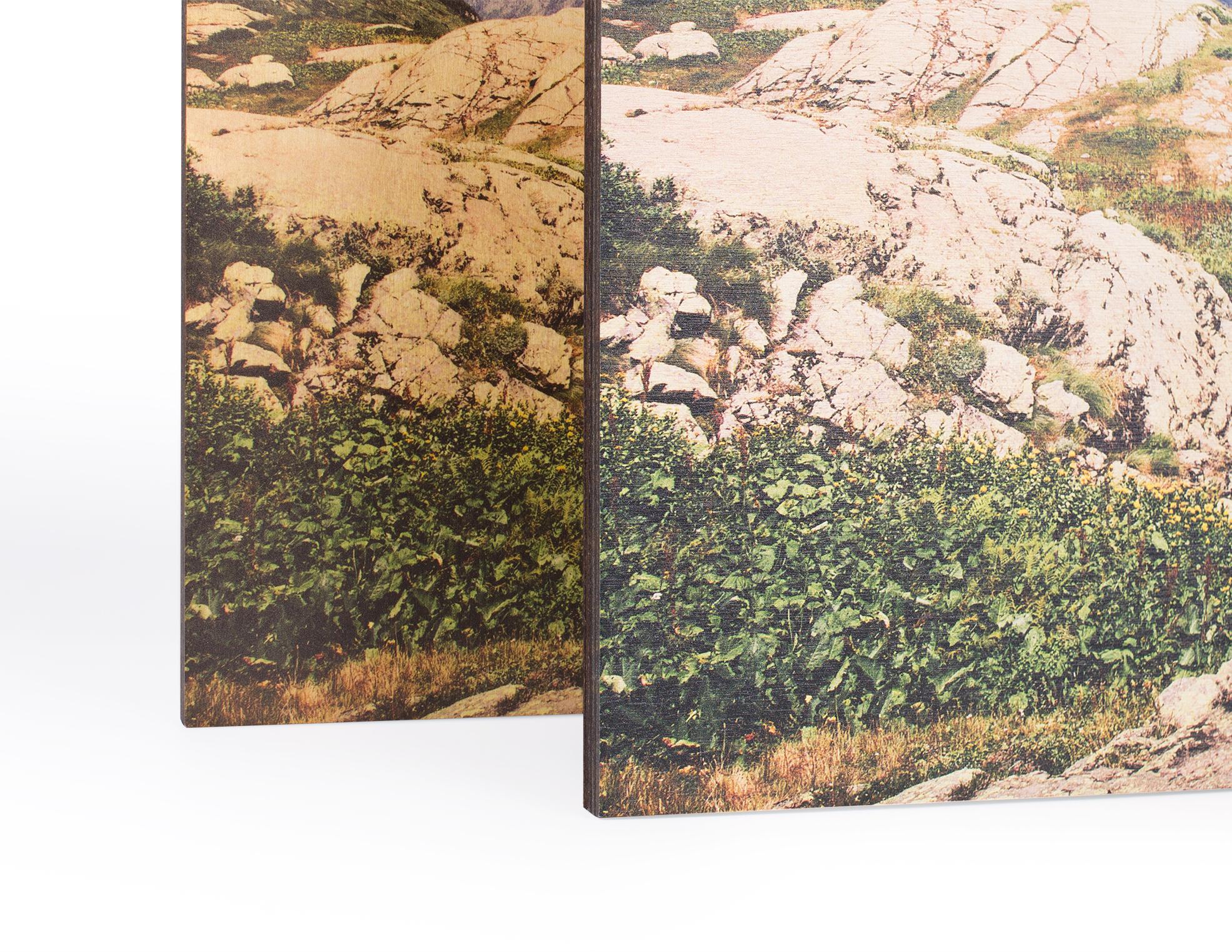 Печать на дереве – изготовление фото на заказ в NetPrint