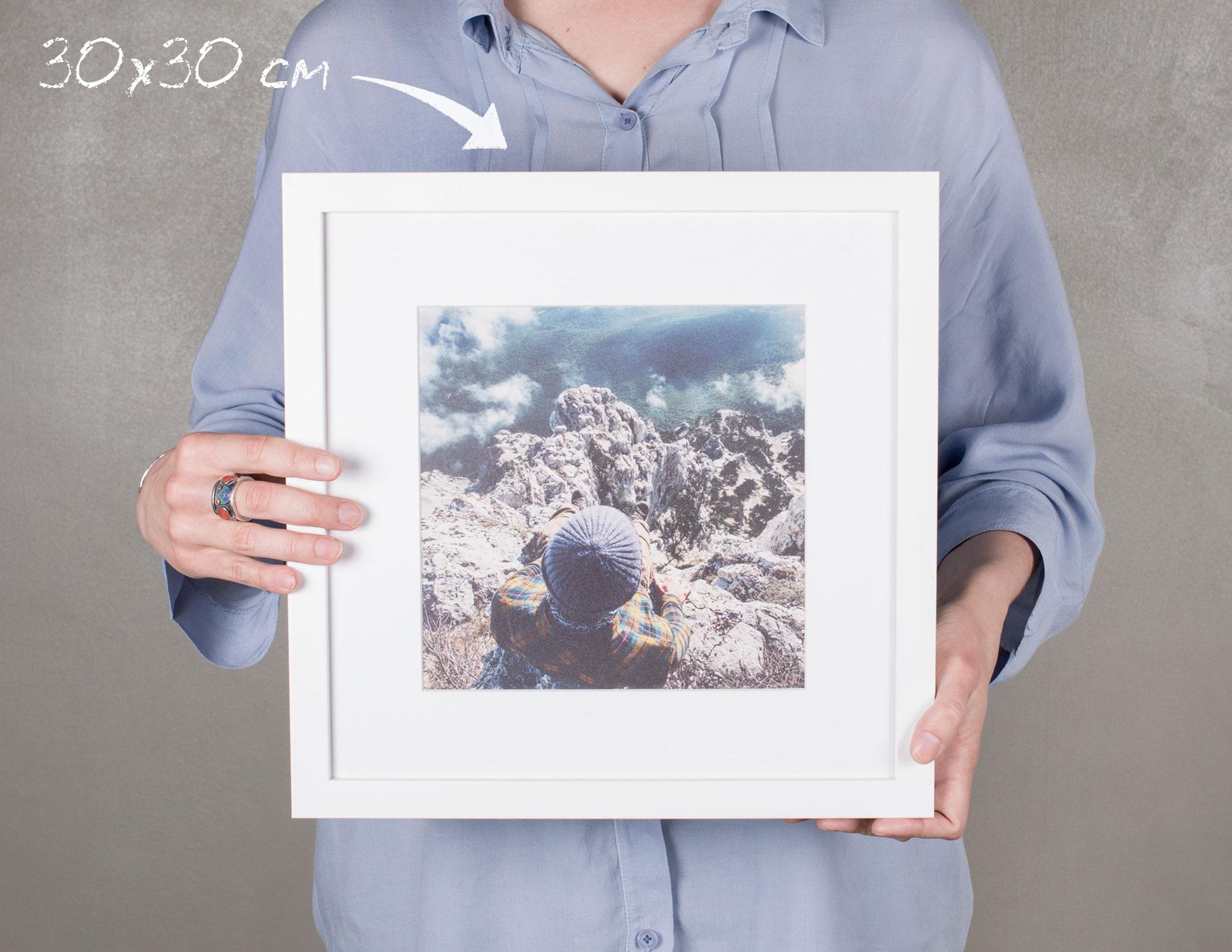 Фотография с паспарту: изготовление и печать на заказ в NetPrint