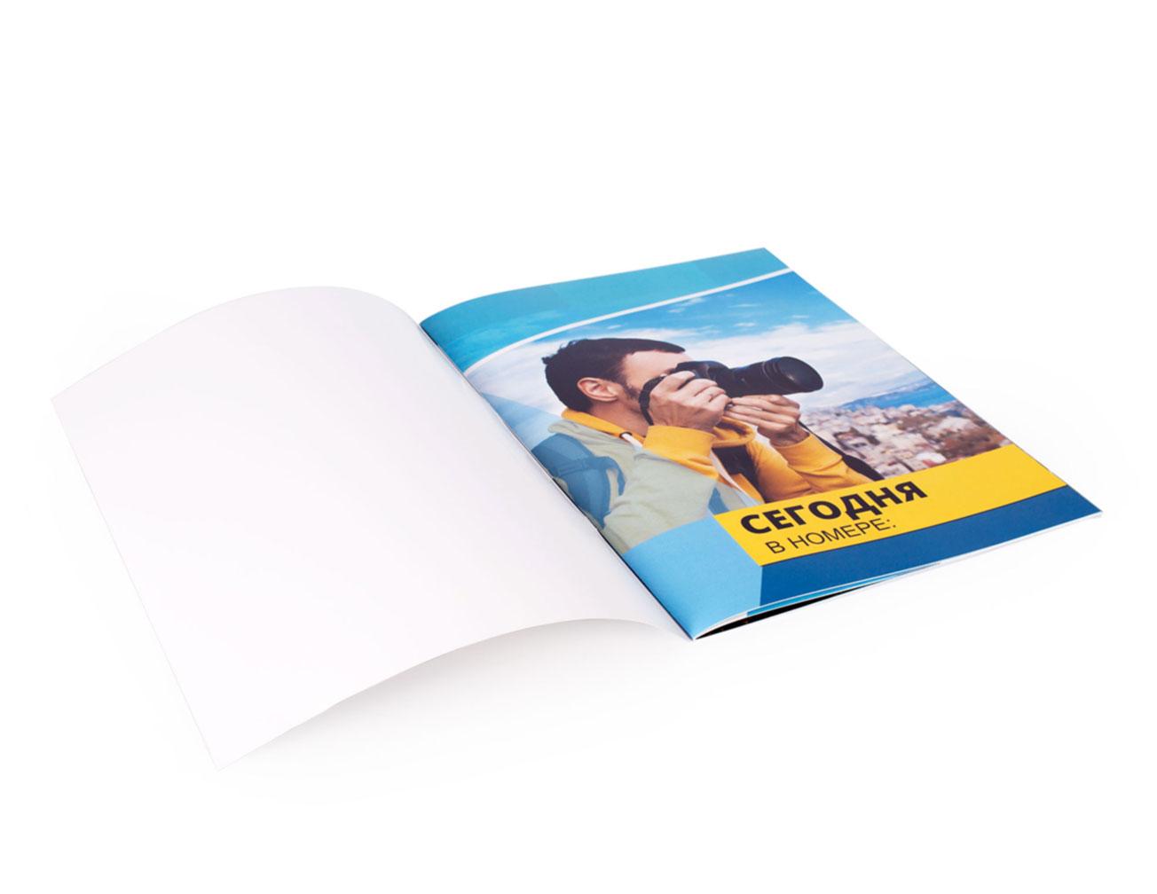 Печать брошюр: создать онлайн в NetPrint