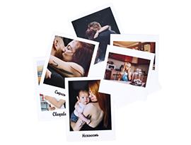 Печать фотографий в стиле Polaroid в NetPrint - Санкт-Петербург