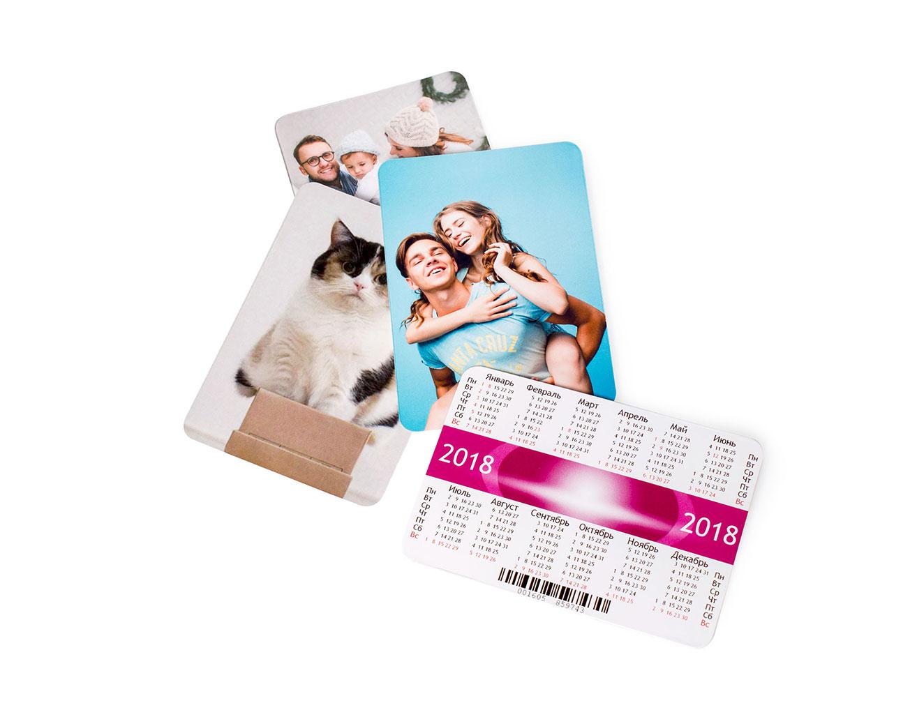 Календарь с фото карманный: изготовление и печать на заказ в NetPrint