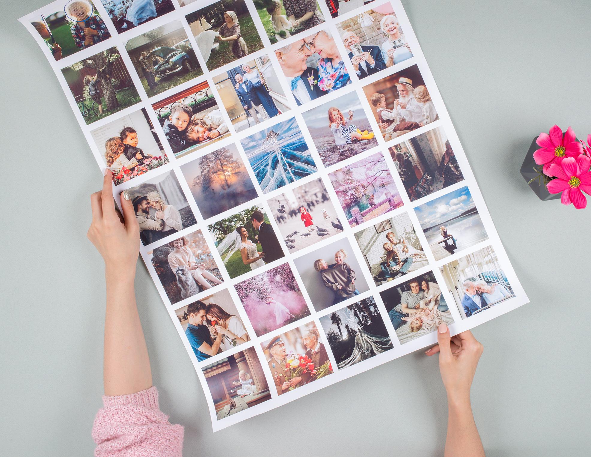 Сайт для с постерами для фото