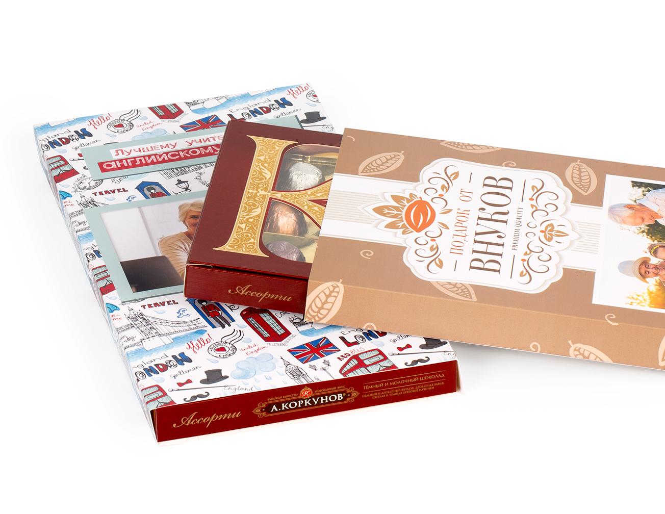 Печать на шоколаде в регионах России с доставкой