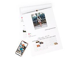 Картинка - Instagram календарь А4