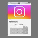 Instagram календарь А3