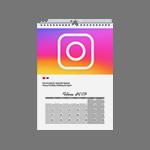 Instagram календарь А4
