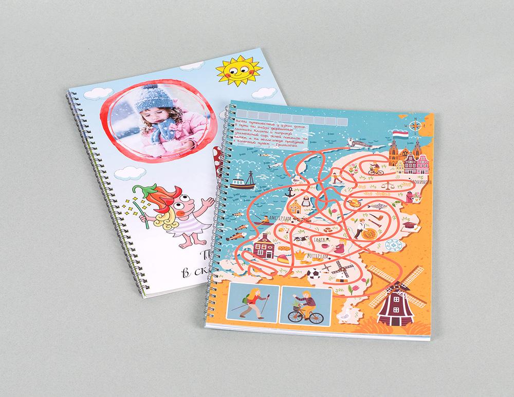 Детские лабиринты с фото и наклейками ребенка - Снежинск