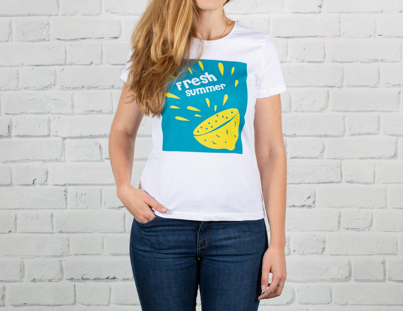 Печать фото на футболках