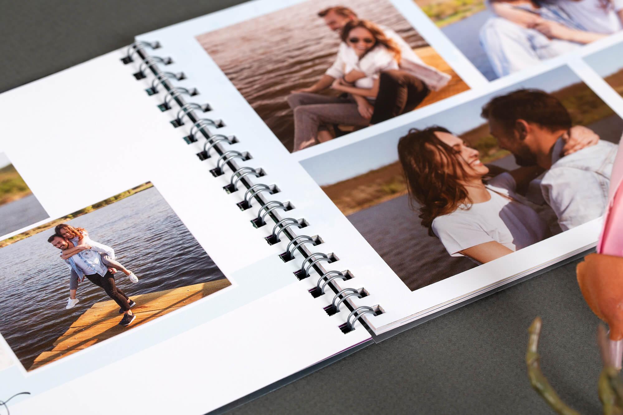 Фотоальбомы на пружине